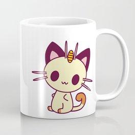 Kawaii Chibi Cat Meowth Coffee Mug
