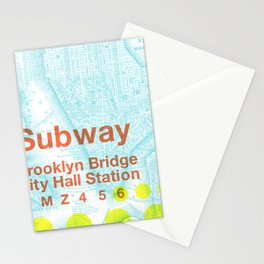 What the Future Awaits for New York II Stationery Cards