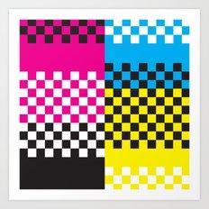C13 CMY&K Art Print