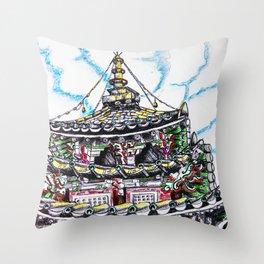 Beopjusa Temple Throw Pillow