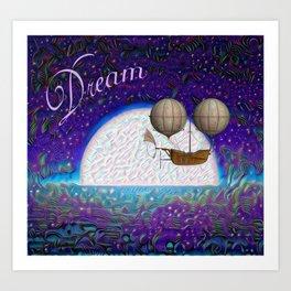 Halcyon Dreams Art Print