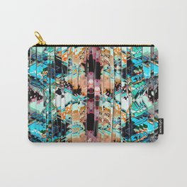 Colorful Abstract In Shreds Carry-All Pouch