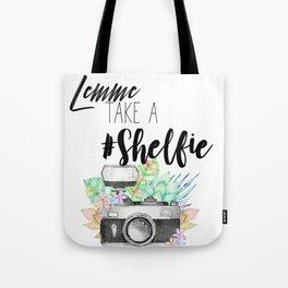 Lemme Take a #Shelfie Tote Bag