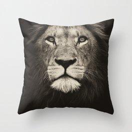 Mr. Lion King Throw Pillow