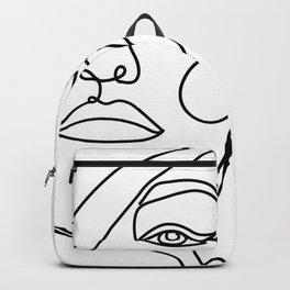 Abstract Girl II Backpack