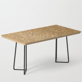 Gold Glitter Coffee Table