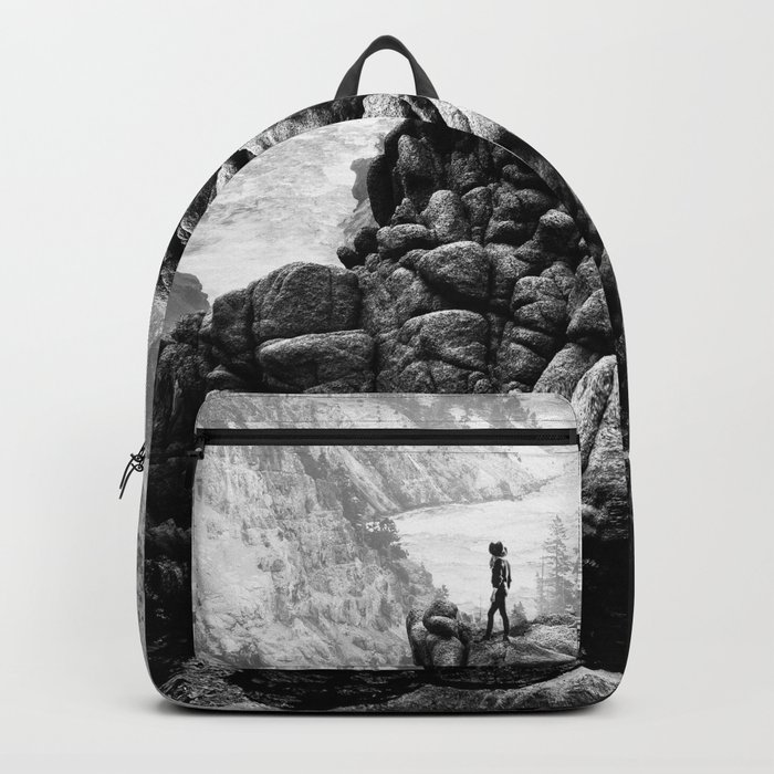 I will come to your river Backpack
