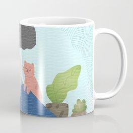 Yoga Boho Girl Coffee Mug