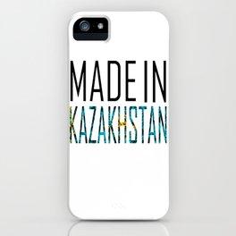 Kazakhstan iPhone Case