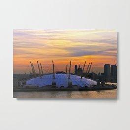Sunsetting Metal Print