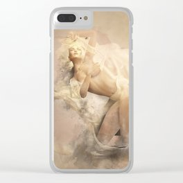 Unwind Clear iPhone Case