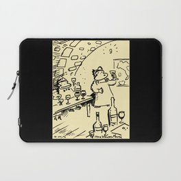 Wine-Tasting Apes Laptop Sleeve