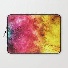 Colorful Textured Tie Dye Laptop Sleeve