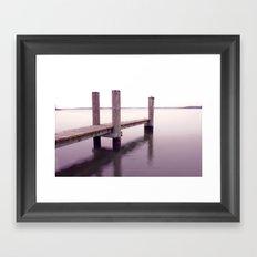 Quiet in Winter Framed Art Print