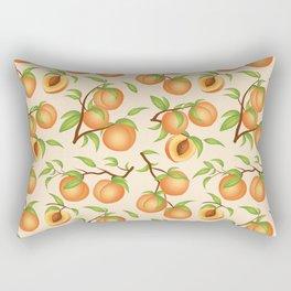 Practice What You Peach - Peach Pattern Rectangular Pillow