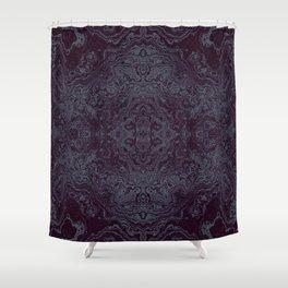 Tatoo weft Shower Curtain
