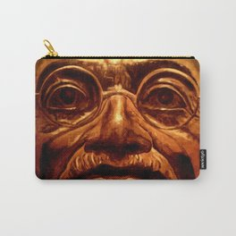 Gandhi - into the face Carry-All Pouch