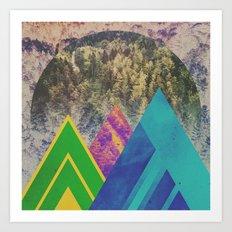 Fractions B16 Art Print