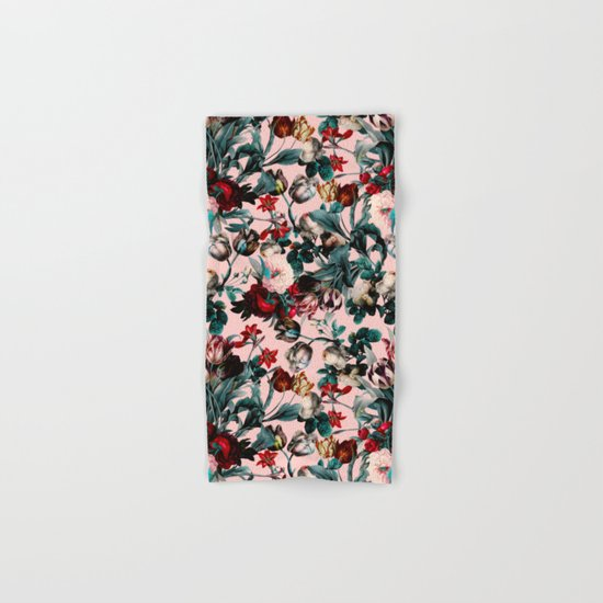 SUMMER BOTANICAL XI Hand & Bath Towel