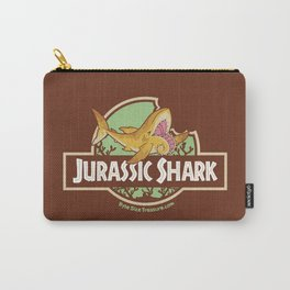 Jurassic Shark - Helicorprion shark Carry-All Pouch