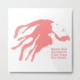 Free Our Minds Metal Print