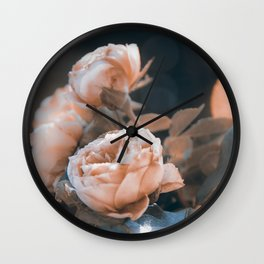 warm evenings Wall Clock