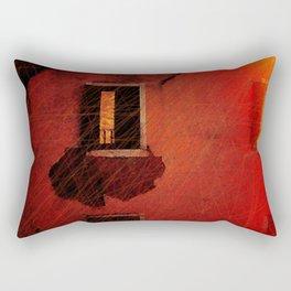 Boy In The Attic Rectangular Pillow