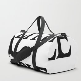 Cats are little people... Duffle Bag