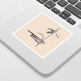 Abstract Landscpe Sticker