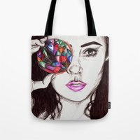 marina Tote Bags featuring Marina  by annelise johnson