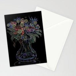 Floral Octopus Vase Stationery Cards