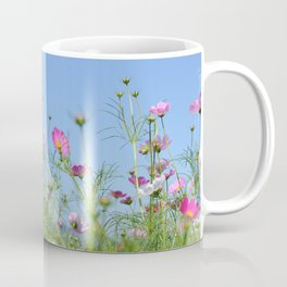 Colorful Cosmos Blue Sky Coffee Mug