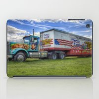 truck iPad Cases featuring Circus Truck by Ian Mitchell