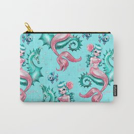 Mysterious Mermaid Carry-All Pouch