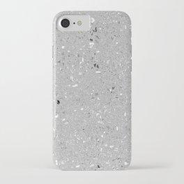 Gray Shine Texture iPhone Case