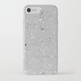 Gray Shine Texture iPhone Case