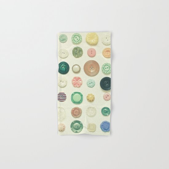 The Button Collection Hand & Bath Towel