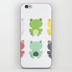 Frogs iPhone & iPod Skin