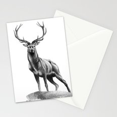 All Muscle - Red Deer Stag Stationery Cards