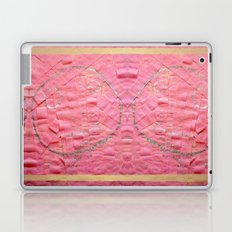 Smile on a pink toilet paper Laptop & iPad Skin