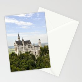 Bavarian Castle on a Hill (horizontal) Stationery Cards