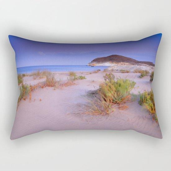 """""""Windy sunset at the paradise"""" Rectangular Pillow"""