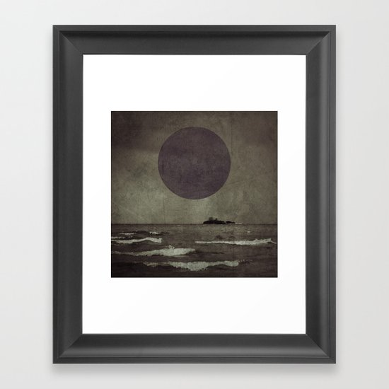 Purple storm Framed Art Print