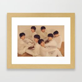 BTS / Bangtan Boys Framed Art Print