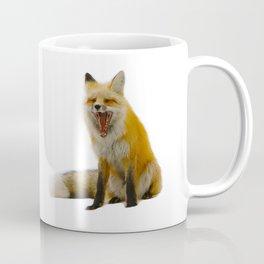 Yawning Fox Coffee Mug