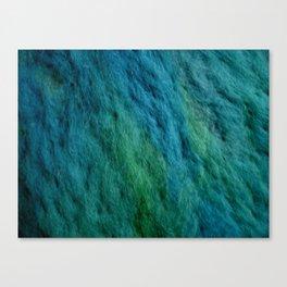 Ocean water wool Canvas Print