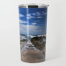 Widemouth Bay Rock Formation Travel Mug
