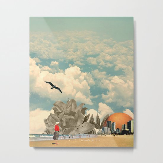 Holiday in the Sun Metal Print
