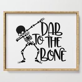 Dab To The Bone Serving Tray