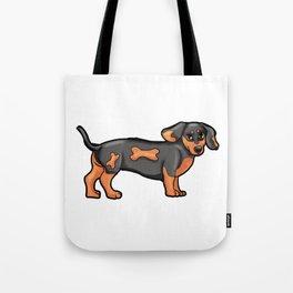 Dackel Dog Dog-Owner gitr Present puppy Tote Bag